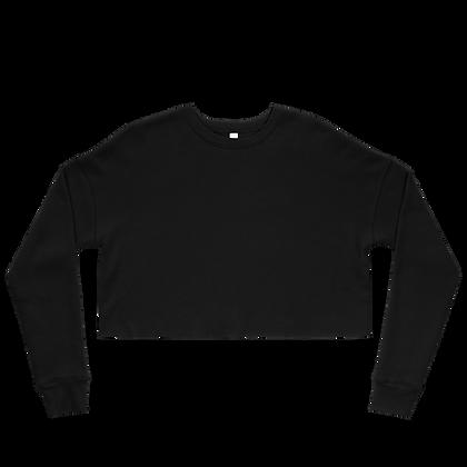 Plain Crop Sweatshirt