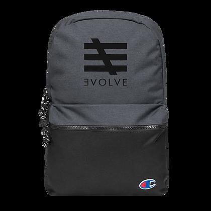 3VOLVE - backpack (black logo)