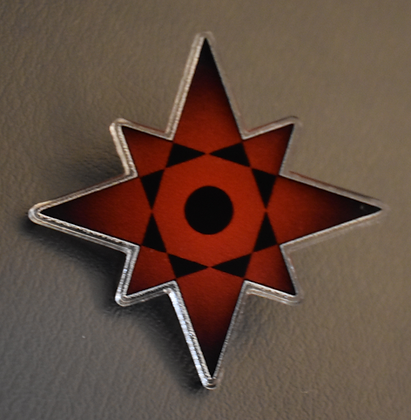 3NCIRCLE Star - acrylic pin