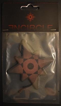 3NCIRCLE Star - rose scented air freshener
