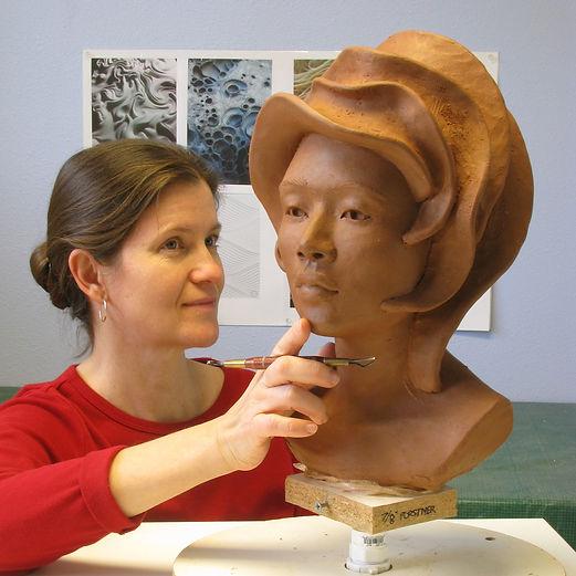 Christine L. Evans, Ceramic Figure Sculptor