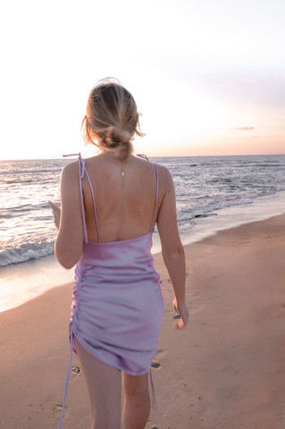 ADIKA Sunset Hour Outdoors  Beach Setting