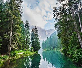 Quiet Mountain Lake