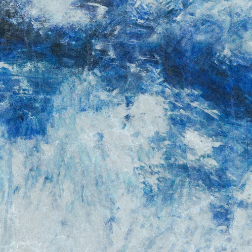 """Distressed Blue Jeans 3"" Fine Art Print"