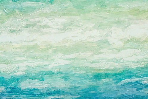 """""""Out to Sea"""" Abstract Fine Art Print"""