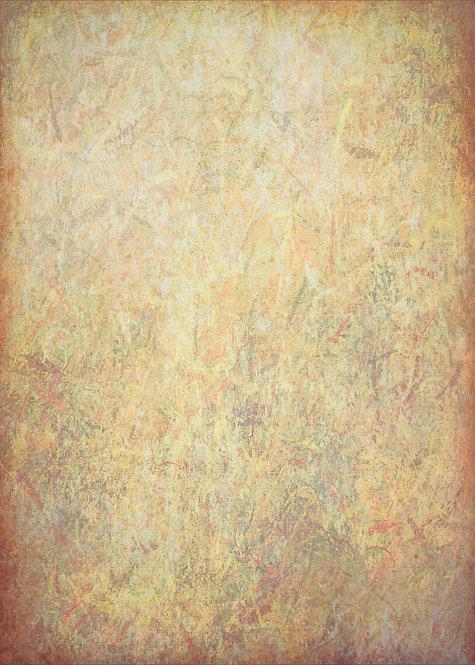 """""""Golden Parchment"""" Fine Art Print - 12"""" x 16"""""""