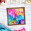 Thumbnail: Bright and Cheery Rainbow Alcohol Ink Digital Download