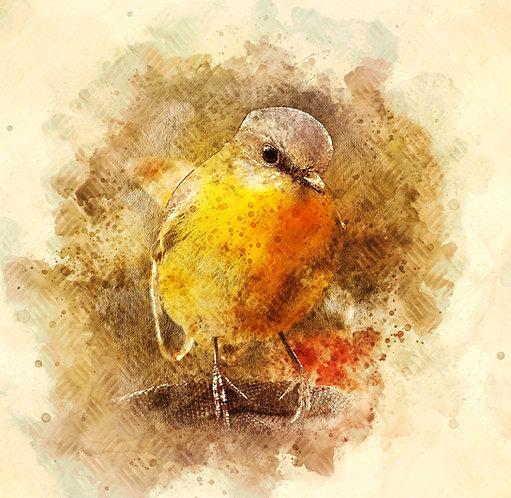 """""""Little Bird"""" Fine Art Print"""