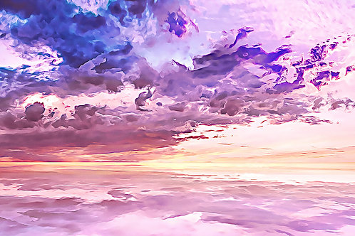 """""""Floating in a Sea of Clouds"""" Fine Art Print"""