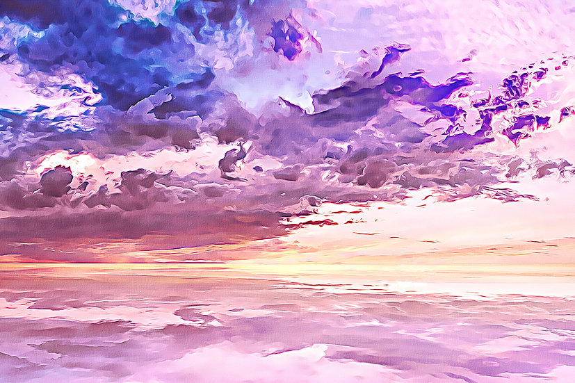 """""""Floating in a Sea of Clouds"""" Fine Art Print - 12"""" x 16"""""""