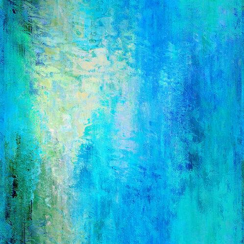 Undersea Garden Abstract Digital Download