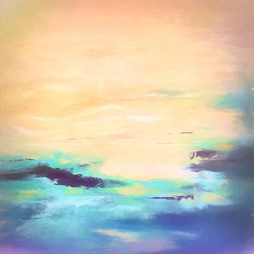 Parting Clouds Abstract Digital Download