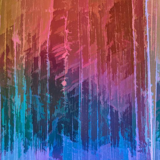 Rainbow Color Gradient Abstract Digital Download