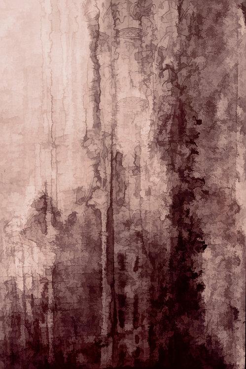Autumn Woodland Minimalist Abstract Digital Download