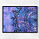 """Thumbnail: 12"""" x 16"""" Original Abstract Acrylic Pour Painting in Pink, Purple and Blue"""