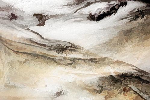 Shifting Dunes Minimalist Abstract Digital Download