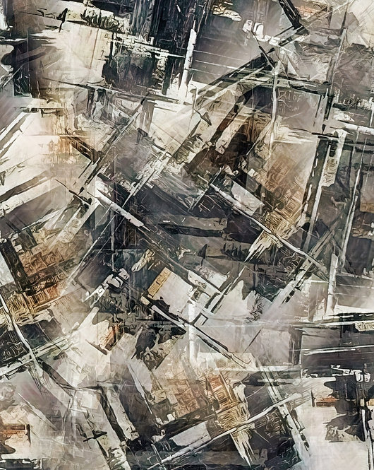 """""""Industrial Materials"""" Abstract Fine Art Print"""