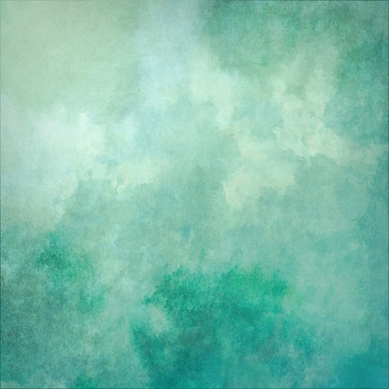 Shades of Green Tranquil Abstract Digital Download