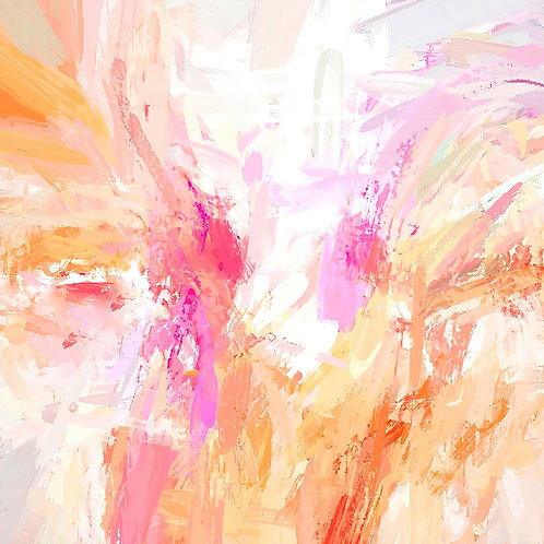 Joyful Contemplations Abstract Expressionist Digital Download