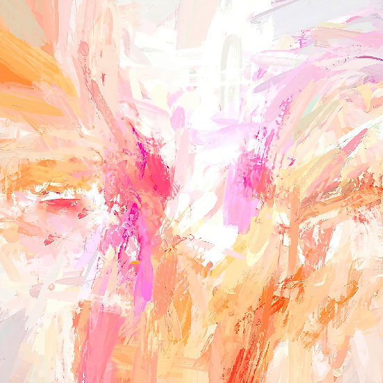 Colorful Abstract Expressionist Digital Download