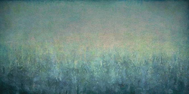 """Among Trees"" Fine Art Print - 9"" x 18"""