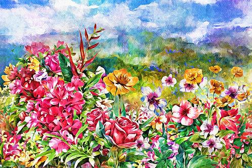 """""""Wildflower Meadow""""Fine Art Print"""