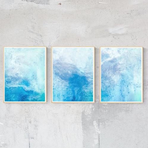 """""""Lost Horizons"""" Set of Three Fine Art Prints - 12"""" x 16"""""""