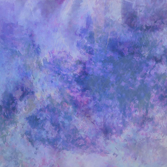 Blue and Purple Abstract Clouds Digital Download