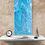 "Thumbnail: 15"" x 30"" Original Abstract Acrylic Pour Painting - ""Tumbling Cascade"""
