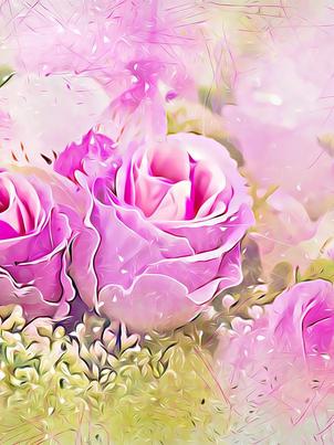 Misty Rose Bouquet