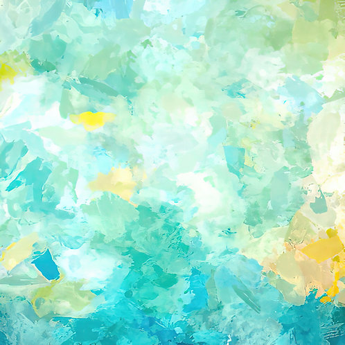 """""""Promise of Spring"""" Abstract Fine Art Print"""