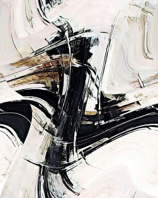 """Continuum"" Abstract Fine Art Print"
