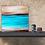 "Thumbnail: 20"" x 20"" Original Abstract Painting - ""Deserted Shore"""