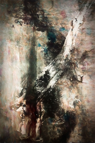 Moody and Dramatic Abstract Figurative Digital Download