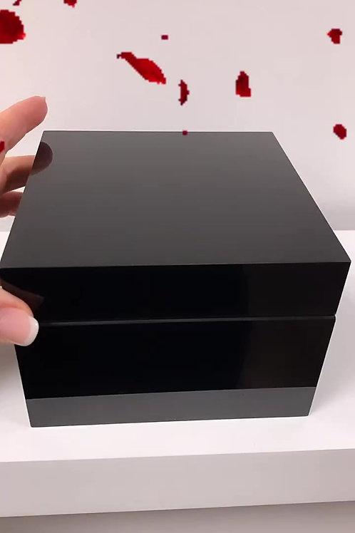 Flowerbox - HD-Screen Small Size mit gewünschter Rosenfarbe