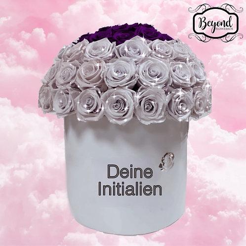Personalisierte Flowerbox Papieroberflächen (Preise schon ab 35,- EUR)