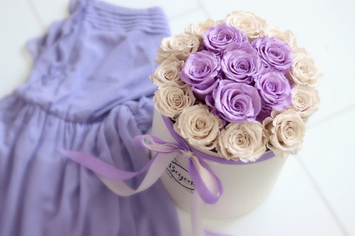 Champagne Mademoiselle L Box Violett Beauty