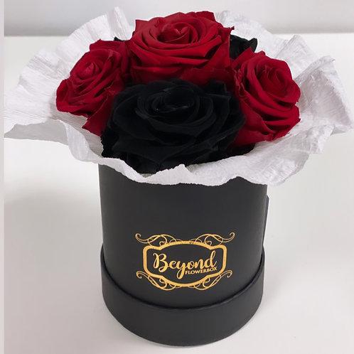 NEU: Mini-Bouquet rot-schwarz