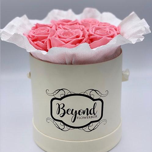 Bouquets in Grösse M in Champagner Box