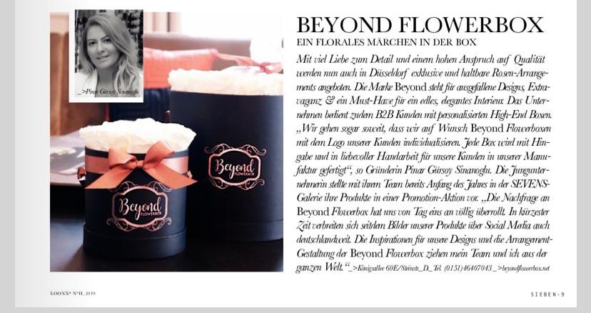 Beyond Flowerbox Interview mit der Gründerin Pinar Gürsoy Sinanoglu