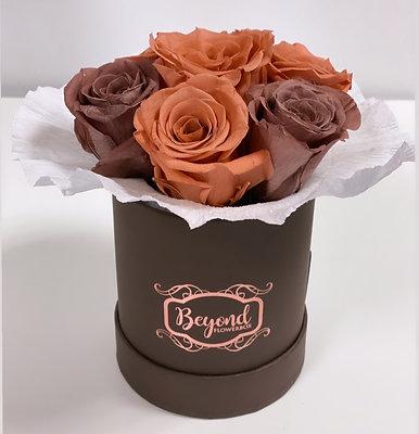 NEU: Mini-Bouquet braun-kupfer