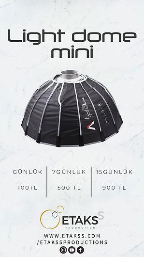 Kiralık Light Dome Mini