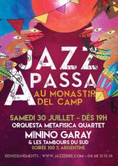Orquesta Metafisica (quartet format) in Jazz Festival Passa - Perpignan, France - 30 July 2016