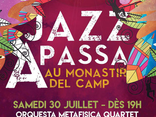 Orquesta Metafisica (quartet format) in Jazz Festival Passa - Perpignan, France - 30 July 2016