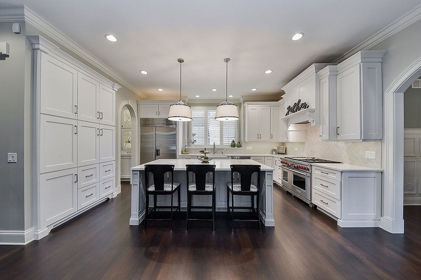 Naperville-Kitchen-White-Cabinetry-Grey-