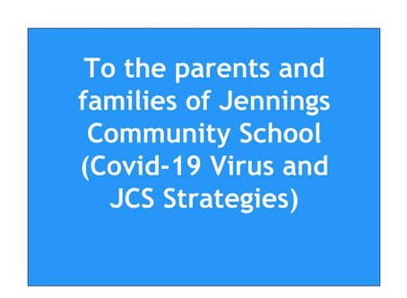 Jennings Community School COVID-19 Response