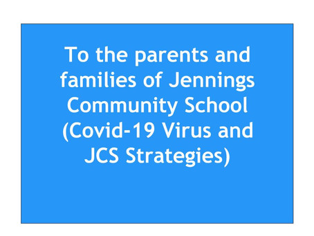 Jennings Community School COVID-19 Response