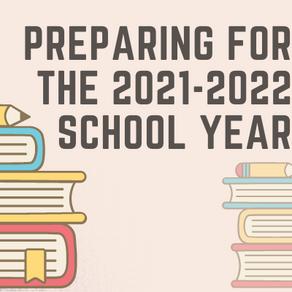 2021-2022 School Year Update