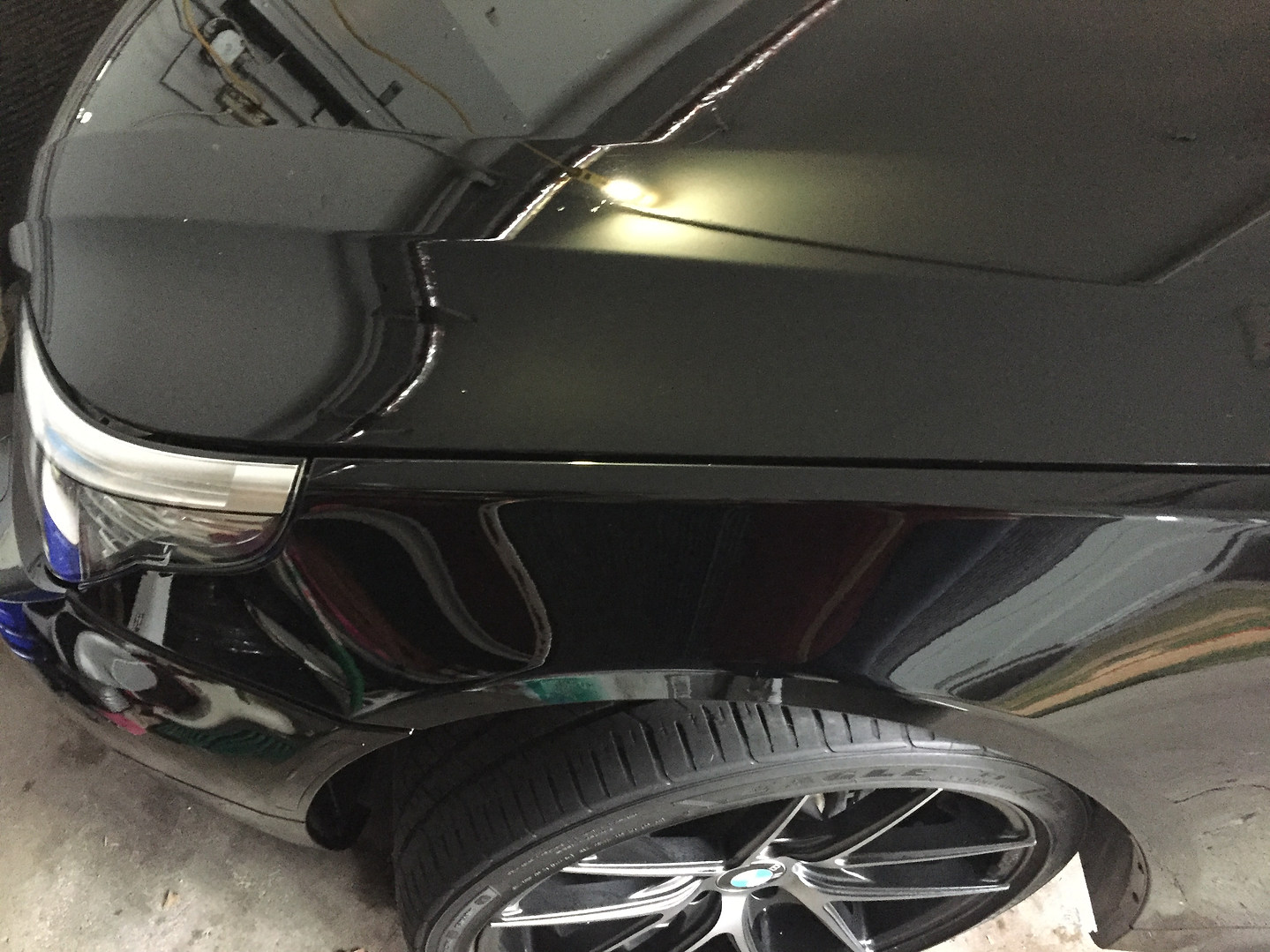 Swirl removal after photo