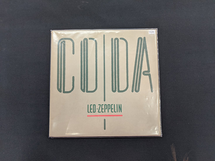 Led Zeppelin - Coda - Vinyl